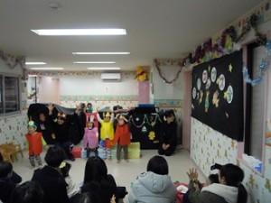 たかの台 クリスマス会 おべんとうバス みどり組 (2)