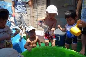 たかの台 プール開き2